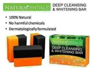 Naturacential deep cleansing &whitening bar