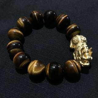 Tiger Eye Pi Xiu Bracelet