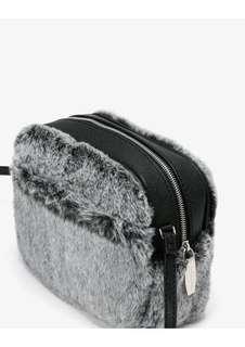 Charles and Keith Furry Bag