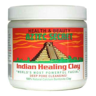 1 LB AZTEC HEALING CLAY AND 1 BOTTLE ACV AND FREE SHIPPING