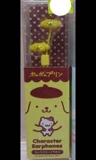正版Sanrio布甸狗earphone