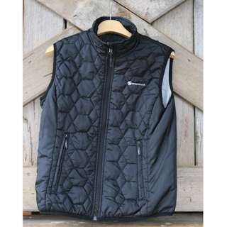 Quilted Black Sporteque Horse Riding Vest