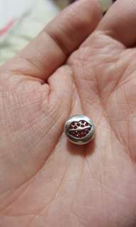 Code S102, Lips 100% 925 Sterling Silver Charm compatible with Pandora