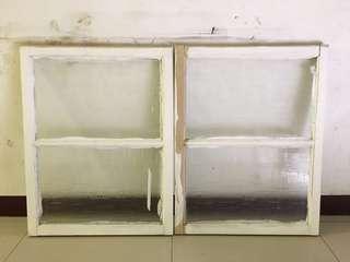 早期老窗 早期老窗戶 木製老窗戶 木質老窗戶 老窗 木頭窗 木窗