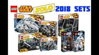 LEGO Star Wars Han Solo sets discounted