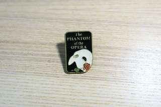 90年代the phantom of the opera徽章pin