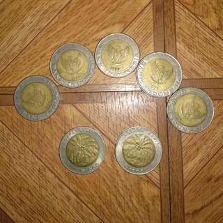 Koin 1000 ( seribu ) kuno