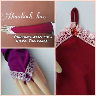 Simply Lace Handsocks