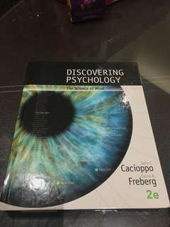 PL1101E discovering psychology textbook