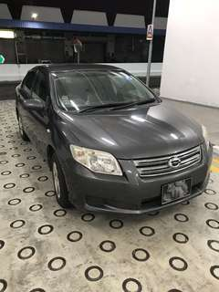 Toyota Axio 1.5A For Rent Grab !