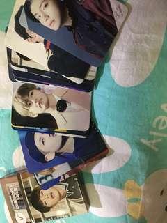 BTS V Message card 防彈少年團 金泰亨
