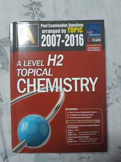 A Level H2 chemistry TYS topical 2007-2016