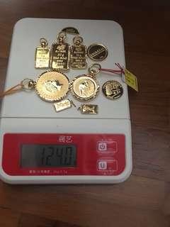 124gram of gold