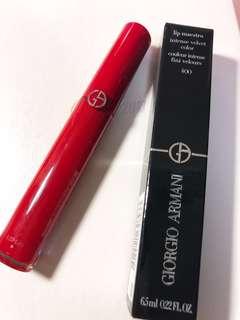 🚚 GA 400 奢華訂製緞光水唇膏 正紅