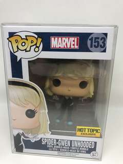 Funko Pop Spider Gwen Unhooded Hot Topic Exclusive