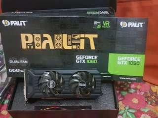 Palit Nvidia GTX 1060 6GB