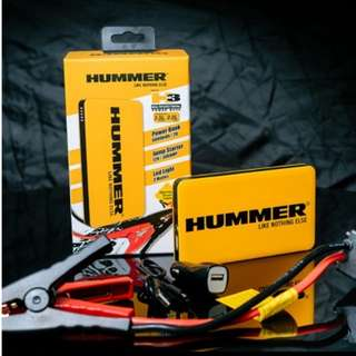 Multifunction Car Jump Starter Hummer H3 $138/-    (6000mAh/22.2Wh) 3.5L Petrol/ 2.0 L Diesel Vehicle