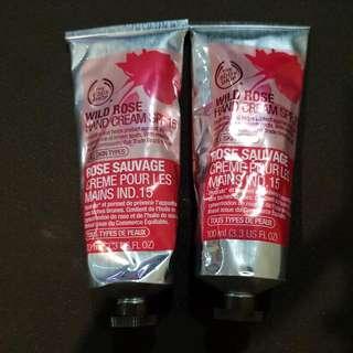 Wild Rose Hand Cream - Body Shop