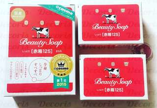 Cow Beauty Soap Red