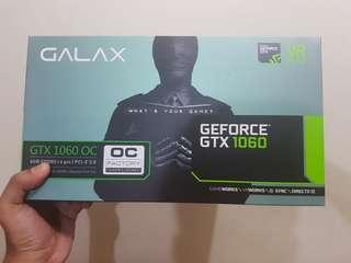 Galax OC Nvidia GTX 1060 6GB