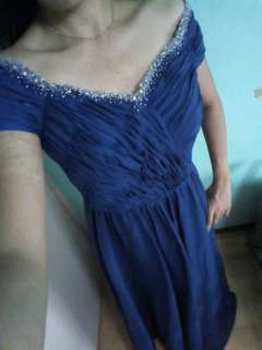Gown for rent (Blue)