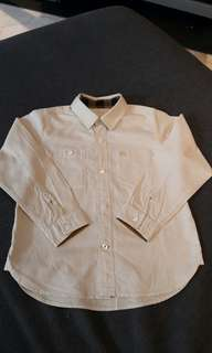 Preloved Authentic Burberry Children Shirt