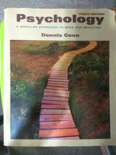 Psychology - Dennis Coon - 10 edition