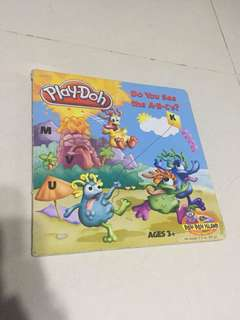 """Play-Doh """"Do You See The A-B-C's"""" Children Hard Cover Book"""