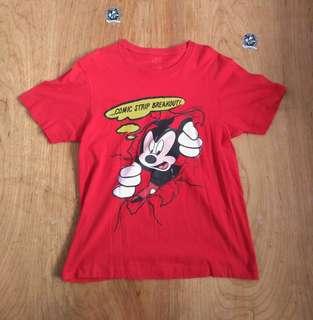 Mickey disney kaos baju murah