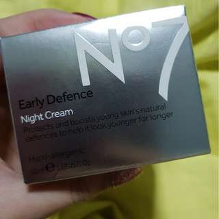 N7 Early Defence Night Cream