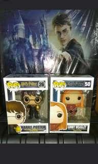 Harry Potter w Triwizard Egg & Ginny Quidditch Funko Pop Bundle