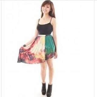 Noixcracker/ Noix Cracker Asymmetric Explosion Skirt