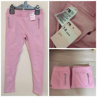 7-8 years (up to 128cm) BNWT Mothercare girls pants