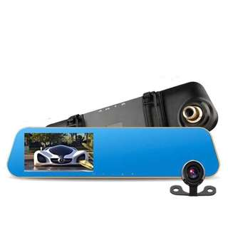 Vehicle Blackbox DVR Full HD Car Dash Cam Dual Camera (Brand New)