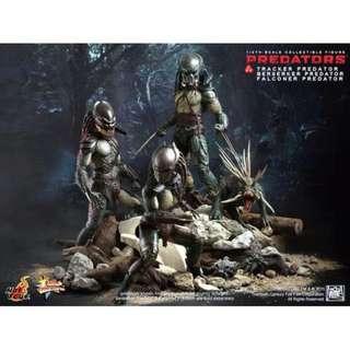 Hottoys Predator, Berserker, Falconer, Tracker NEW Hot toys New