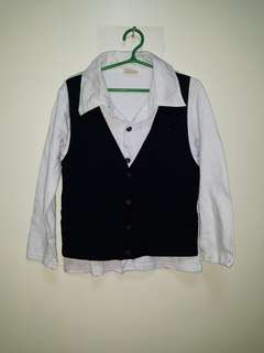 LONGSLEEVE WITH VEST