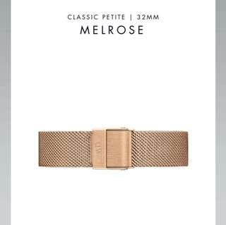 Daniel Wellington melrose replacement strap