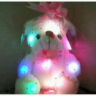 Boneka lampu kids jaman now beruang