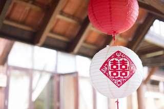 16pcs Round Paper Decor Lanterns