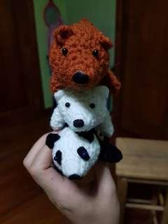 HANDMADE!! We Bare Bears Amigurumi