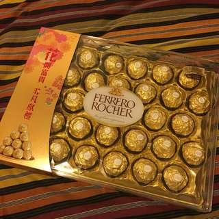 金莎朱古力 Ferraro rocher chocolate 30 粒裝