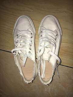 Sneakers Pull and Bear White