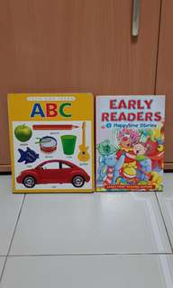 ABC book n happytime stories book