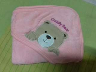 Cuddly Bear🐻 towel + 3pcs Diaper holder
