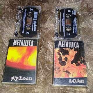 Metallica set Load&Reload