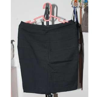 ZARA Mini Skirt (Black)