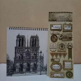 Scrapbook & 3D Stickers