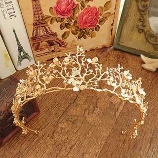 Fairy Crown of Gold Branches