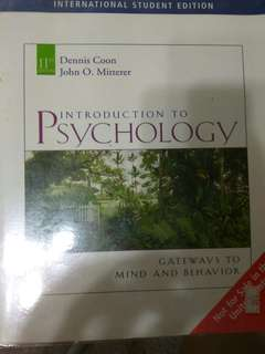 Introduction to psychology - 7th edition