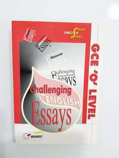 GCE O Level Challenging Essays